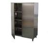 Шкаф кух. распашные двери 1200х600х1800 нерж.